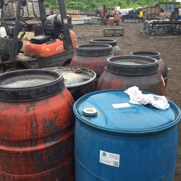 Recovery and disposal of hazardous materials